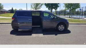 Used Wheelchair Van For Sale: 2016 Honda Odysey Exl EX Wheelchair Accessible Van For Sale with a VMI - Honda Northstar on it. VIN: 5FNRL5H69GB032218