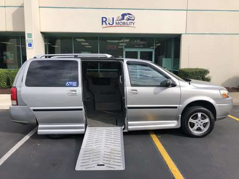 Used Wheelchair Van For Sale: 2005 Chevrolet Uplander Lt LT Wheelchair Accessible Van For Sale with a Elderado Power Fold Out Conversion  on it. VIN: 1GNDV33L55D148422