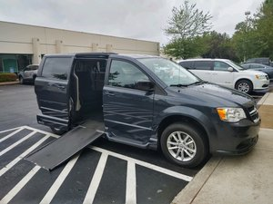 Used Wheelchair Van For Sale: 2014 Dodge Grand Caravan SXT Wheelchair Accessible Van For Sale with a VMI Northstar E Manual Side Entry Conversion on it. VIN: 2C4RDGCG2ER123244