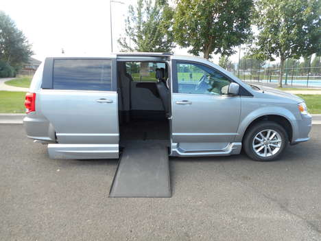 Used Wheelchair Van For Sale: 2019 Dodge Grand Caravan SXT Wheelchair Accessible Van For Sale with a VMI Northstar Side Entry Conversion on it. VIN: 2C4RDGCG2KR559071