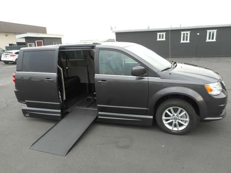 Used Wheelchair Van For Sale: 2019 Dodge Grand Caravan SXT Wheelchair Accessible Van For Sale with a VMI Northstar Side Entry Conversion on it. VIN: 2C4RDGCG3KR591060