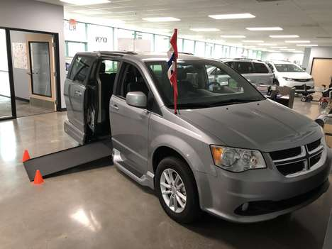 Used Wheelchair Van For Sale: 2019 Dodge Grand Caravan SXT Wheelchair Accessible Van For Sale with a VMI Northstar Side Entry Conversion on it. VIN: 2C4RDGCG6KR699463