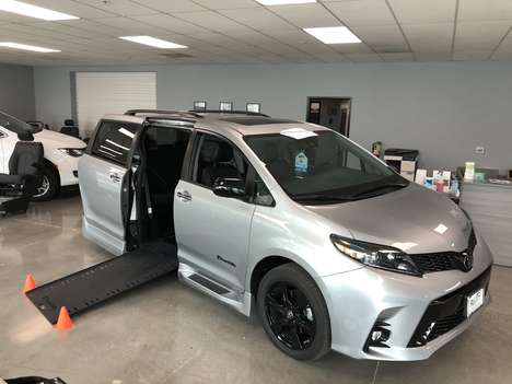 New Wheelchair Van For Sale: 2020 Toyota Sienna SE Wheelchair Accessible Van For Sale with a BraunAbility Xi Infloor Conversion on it. VIN: 5TDXZ3DC5LS074333