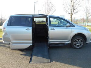 Used Wheelchair Van For Sale: 2018 Toyota Sienna S Wheelchair Accessible Van For Sale with a VMI Northstar Side Entry Conversion on it. VIN: 5TDXZ3DC6JS909577