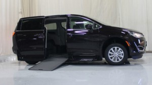 New Wheelchair Van For Sale: 2018 Chrysler Pacifica Touring Wheelchair Accessible Van For Sale with a Rollx Vans - Rollx In Floor Chrysler on it. VIN: 2C4RC1FG5JR186294