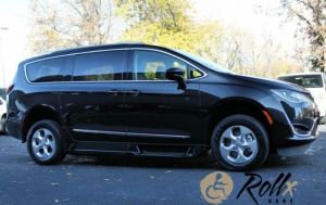 New Wheelchair Van For Sale: 2017 Chrysler Pacifica + Wheelchair Accessible Van For Sale with a Rollx 11 Inch Drop Floor Conversion With In-the-floor Ramp on it. VIN: 48922