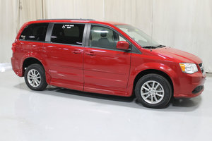 Used Wheelchair Van For Sale: 2015 Dodge Grand Caravan SXT Wheelchair Accessible Van For Sale with a Rollx 11 Inch Drop Floor Conversion with In-the-floor Ramp on it. VIN: 49011A