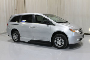 Used Wheelchair Van For Sale: 2013 Honda Odyssey EX Wheelchair Accessible Van For Sale with a VMI 12 INCH DROP FLOOR CONVERSION WITH IN-THE-FLOOR RAMP on it. VIN: 49047A