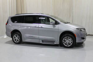 New Wheelchair Van For Sale: 2018 Chrysler Pacifica LT Wheelchair Accessible Van For Sale with a Rollx 12.5 Inch Drop Floor Conversion With In-the-floor Ramp on it. VIN: 49054