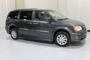 Used Wheelchair Van For Sale: 2016 Chrysler Town & Country Touring Wheelchair Accessible Van For Sale with a Rollx 11 Inch Drop Floor Conversion with In-the-floor Ramp on it. VIN: 49264A