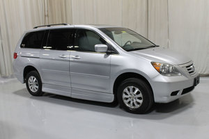 Used Wheelchair Van For Sale: 2010 Honda Odyssey EX Wheelchair Accessible Van For Sale with a Rollx 11 Inch Drop Floor Conversion with In-the-floor Ramp on it. VIN: 49276A