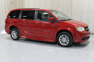 Used Wheelchair Van For Sale: 2016 Dodge Grand Caravan SXT Wheelchair Accessible Van For Sale with a Rollx 11 Inch Drop Floor Conversion with In-the-floor Ramp on it. VIN: 49318A