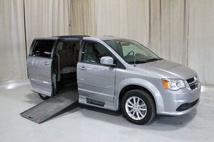 Used Wheelchair Van For Sale: 2016 Dodge Grand Caravan SXT Wheelchair Accessible Van For Sale with a Rollx 11 Inch Drop Floor Conversion with In-the-floor Ramp on it. VIN: 49337A