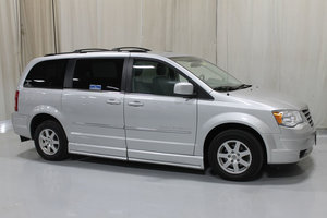 Used Wheelchair Van For Sale: 2010 Chrysler Town & Country Touring Wheelchair Accessible Van For Sale with a BRAUN 11 INCH DROP FLOOR CONVERSION WITH FOLDOUT RAMP on it. VIN: 49356A