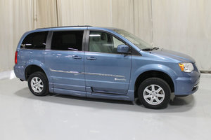 Used Wheelchair Van For Sale: 2012 Chrysler Town & Country Touring Wheelchair Accessible Van For Sale with a Rollx 10 Inch Drop Floor Conversion with Foldout Ramp on it. VIN: 49375A