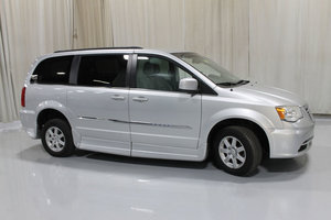 Used Wheelchair Van For Sale: 2012 Chrysler Town & Country Touring Wheelchair Accessible Van For Sale with a Rollx 11 Inch Drop Floor Conversion with In-the-floor Ramp on it. VIN: 49377