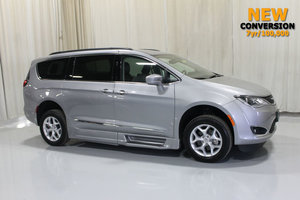 Used Wheelchair Van For Sale: 2017 Chrysler Pacifica Touring Wheelchair Accessible Van For Sale with a Rollx 12.5 Inch Drop Floor Conversion with In-the-floor Ramp on it. VIN: 49431