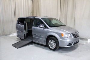 Used Wheelchair Van For Sale: 2014 Chrysler Town & Country LT Wheelchair Accessible Van For Sale with a Rollx 11 Inch Drop Floor Conversion with In-the-floor Ramp on it. VIN: 49442A
