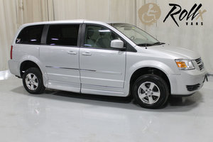 Used Wheelchair Van For Sale: 2008 Dodge Grand Caravan SXT Wheelchair Accessible Van For Sale with a Rollx 11 Inch Drop Floor Conversion with In-the-floor Ramp on it. VIN: 49443
