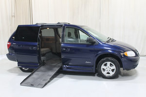 Used Wheelchair Van For Sale: 2005 Dodge Grand Caravan SXT Wheelchair Accessible Van For Sale with a OTHER 10 INCH DROP FLOOR WITH POWER FOLDING RAMP on it. VIN: 49493A