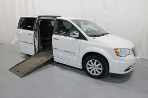 Used Wheelchair Van For Sale: 2012 Chrysler Town & Country Touring Wheelchair Accessible Van For Sale with a 1 on it. VIN: 49527A