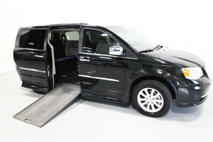 Used Wheelchair Van For Sale: 2016 Chrysler Town & Country LT Wheelchair Accessible Van For Sale with a Rollx 11 Inch Drop Floor Conversion with In-the-floor Ramp on it. VIN: 49595A