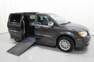 Used Wheelchair Van For Sale: 2016 Chrysler Town & Country LT Wheelchair Accessible Van For Sale with a Rollx 11 Inch Drop Floor Conversion with In-the-floor Ramp on it. VIN: 49624A