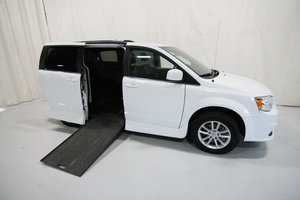 Used Wheelchair Van For Sale: 2018 Dodge Grand Caravan S Wheelchair Accessible Van For Sale with a Rollx 11 Inch Drop Floor Conversion with In-the-floor Ramp on it. VIN: 49647A