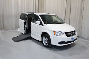 Used Wheelchair Van For Sale: 2013 Dodge Grand Caravan SXT Wheelchair Accessible Van For Sale with a Rollx 11 Inch Drop Floor Conversion with In-the-floor Ramp on it. VIN: 49709