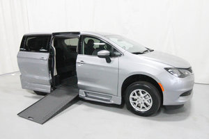 New Wheelchair Van For Sale: 2020 Chrysler Town & Country L Wheelchair Accessible Van For Sale with a Rollx 12.5 Inch Drop Floor Conversion with In-the-floor Ramp on it. VIN: 49743