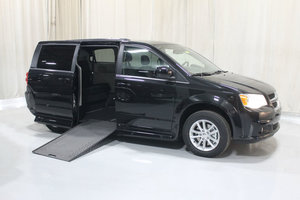 New Wheelchair Van For Sale: 2019 Dodge Grand Caravan S Wheelchair Accessible Van For Sale with a Rollx 11 Inch Drop Floor Conversion with In-the-floor Ramp on it. VIN: 49754
