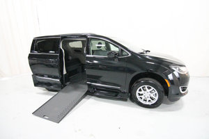 New Wheelchair Van For Sale: 2020 Chrysler Pacifica Touring Wheelchair Accessible Van For Sale with a Rollx 12.5 Inch Drop Floor Conversion with In-the-floor Ramp on it. VIN: 49890