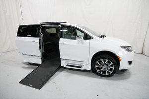 New Wheelchair Van For Sale: 2020 Chrysler Pacifica L Wheelchair Accessible Van For Sale with a Rollx 12.5 Inch Drop Floor Conversion with In-the-floor Ramp on it. VIN: 49891