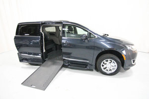 New Wheelchair Van For Sale: 2020 Chrysler Pacifica L Wheelchair Accessible Van For Sale with a Rollx 12.5 Inch Drop Floor Conversion with In-the-floor Ramp on it. VIN: 49892