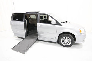 Used Wheelchair Van For Sale: 2016 Dodge Grand Caravan SXT Wheelchair Accessible Van For Sale with a Rollx 11 Inch Drop Floor Conversion with In-the-floor Ramp on it. VIN: 49915
