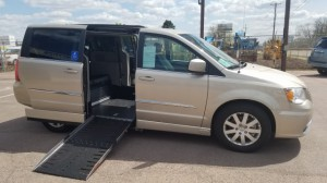 Used Wheelchair Van For Sale: 2016 Chrysler Town and Country Touring  Wheelchair Accessible Van For Sale with a AMS Vans - Chrysler Legend Side Entry on it. VIN: 2C4RC1BG4GR286417