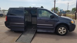Used Wheelchair Van For Sale: 2009 Dodge Grand Caravan  Wheelchair Accessible Van For Sale with a Rollx Vans - Rollx Fold Out Dodge on it. VIN: 2D8HN54119R564605