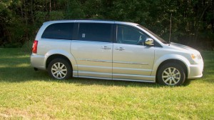 Used Wheelchair Van For Sale: 2012 Chrysler Town and Country Touring-L  Wheelchair Accessible Van For Sale with a BraunAbility® - Chrysler CompanionVan Plus on it. VIN: 2C4RC1CG0CR106262