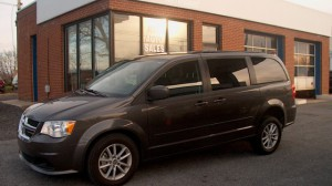 Used Wheelchair Van For Sale: 2016 Dodge Grand Caravan SXT  Wheelchair Accessible Van For Sale with a FR Wheelchair Vans - Dodge Rear Entry on it. VIN: 2C4RDGCG7GR210284