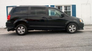 Used Wheelchair Van For Sale: 2013 Dodge Grand Caravan SXT  Wheelchair Accessible Van For Sale with a FR Wheelchair Vans - Dodge Rear Entry on it. VIN: 2C4RDGCG6DR521779