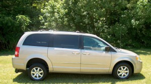 Used Wheelchair Van For Sale: 2009 Chrysler Town and Country Touring  Wheelchair Accessible Van For Sale with a FR Wheelchair Vans - Chrysler Rear Entry on it. VIN: 2A8HR54199R592230