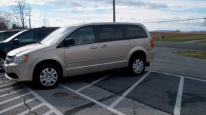Used Wheelchair Van For Sale: 2015 Dodge Caravan  Wheelchair Accessible Van For Sale with a BraunAbility - BraunAbility Dodge Manual Rear Entry on it. VIN: 2C4RDGBG4FR606205