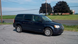 Used Wheelchair Van For Sale: 2008 Chrysler Town & Country LX Wheelchair Accessible Van For Sale with a Eldorado National Amerivan - Dodge & Chrysler Amerivan RL on it. VIN: 2A8HR44H38R721858