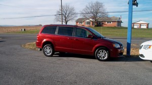 Used Wheelchair Van For Sale: 2018 Dodge Caravan  Wheelchair Accessible Van For Sale with a FR Wheelchair Vans - Dodge Rear Entry on it. VIN: 2C4RDGCG5JR266599