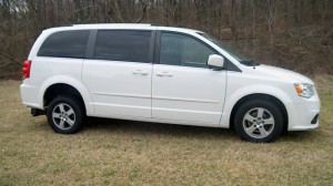 Used Wheelchair Van For Sale: 2018 Dodge Caravan  Wheelchair Accessible Van For Sale with a FR Wheelchair Vans - Dodge Rear Entry on it. VIN: 2C4RDGCG1JR267085
