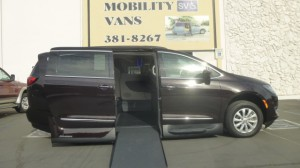 Used Wheelchair Van For Sale: 2017 Chrysler Pacifica Touring Wheelchair Accessible Van For Sale with a VMI - Chrysler Pacifica Northstar Access360 by VMI on it. VIN: 2C4RC1BG0HR758971