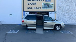 Used Wheelchair Van For Sale: 2005 Dodge Grand Caravan SE Wheelchair Accessible Van For Sale with a VMI Dodge Summit on it. VIN: 1D4GP24R35B272569