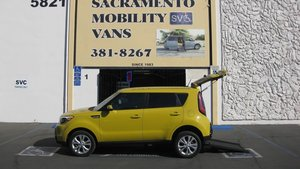 Used Wheelchair Van For Sale: 2016 Kia Soul + Wheelchair Accessible Van For Sale with a Freedom Motors Scion Manual Rear Entry on it. VIN: KNDJP3A57G7260795