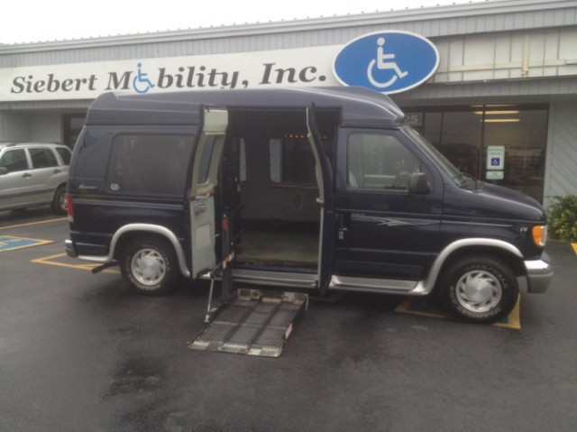2002 ford e 150 wheelchair van for sale please choose a. Black Bedroom Furniture Sets. Home Design Ideas