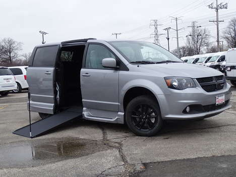 New Wheelchair Van For Sale: 2020 Dodge Grand Caravan SE Wheelchair Accessible Van For Sale with a SE Plus Wagon on it. VIN: 2C4RDGBG0LR239105